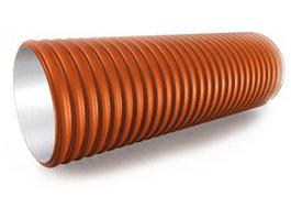 Труба гофрированная без раструба SN8 Диаметр: 368/315