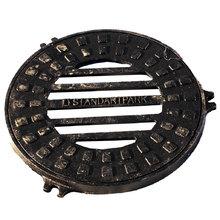 Чугунный дождеприемник-обрамление круглый