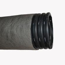 Дренажная труба гофрированная в фильтре геотекстиль TyparØ200 мм
