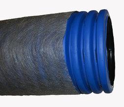 Дренажная труба двухслойная в фильтре геотекстиль TyparØ200 мм