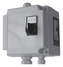 Пульт управления SQSK (устанавливается с реле давления FF)