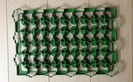 Газонная решетка зеленая (600х400х50)