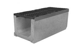 Водоотводный лоток бетонный серии Super Е600 – 600kH (до 60 тонн) (1000x399x420)