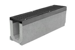 Лоток водоотводный бетонный серии Super Е600 (до 60тонн) (1000x165x210)