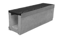 Лоток водоотводный бетонный серии Super Е600 (до 60тонн) (1000x230x310)