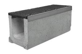 Лоток водоотводный бетонный серии Super Е600 (до 60тонн) (1000x290x330)