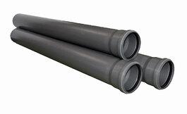 Труба для внутренней канализации - диаметр 110 мм, длина 250 мм