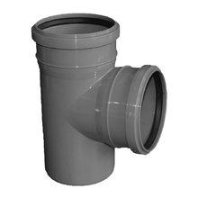 Тройник - диаметр 110 мм / диаметр 110 мм / 87º